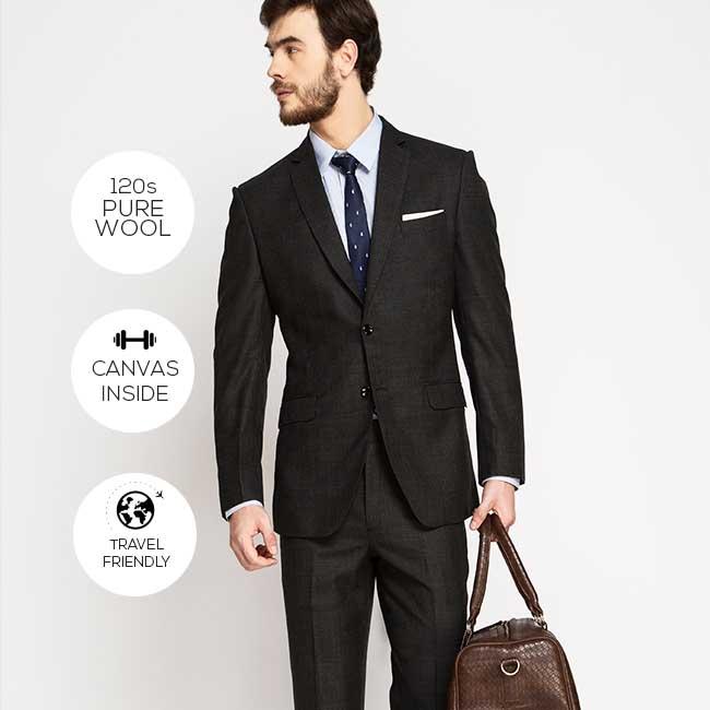 Design custom suits online