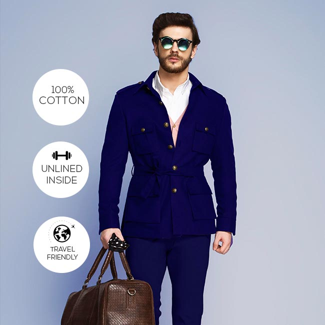 Cotton Outerwear Suits