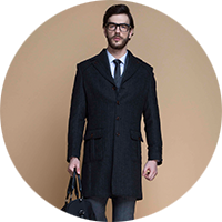 Fitted Overcoats