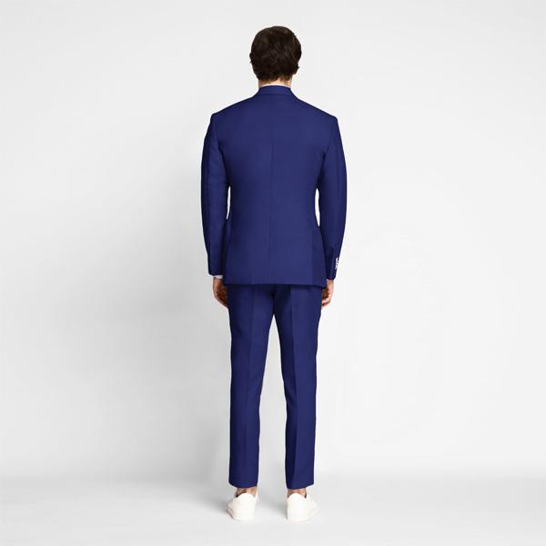 Royal Blue Cotton Suit-mbview-2