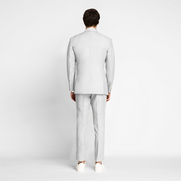 Slate Gray Cotton Suit-mbview-2