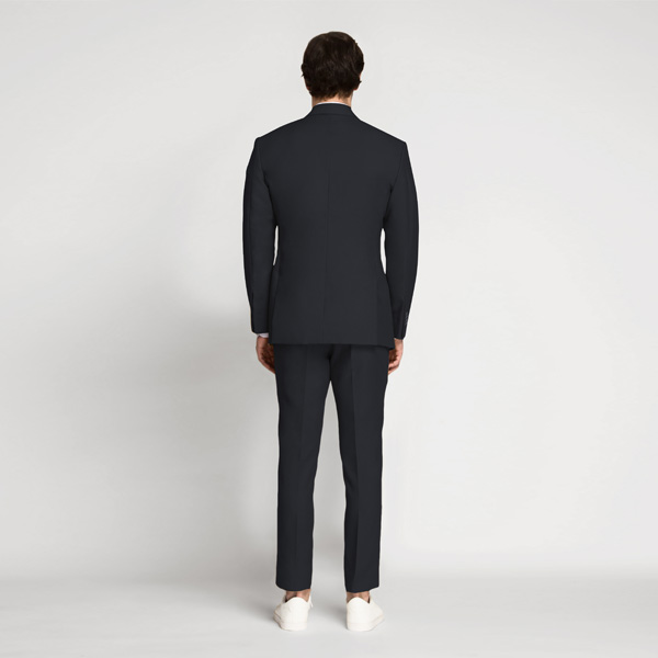 Prussian Blue Cotton Suit-mbview-2