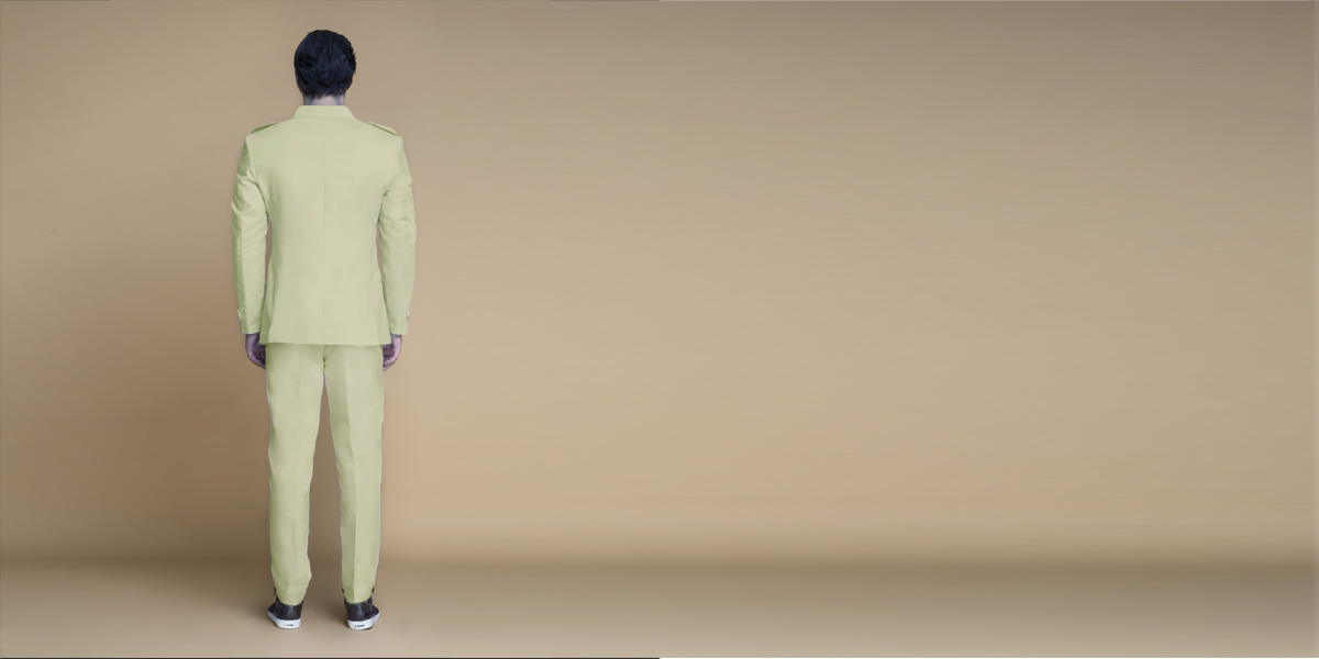 Fraser Sage Green Leisure Suit- view-2
