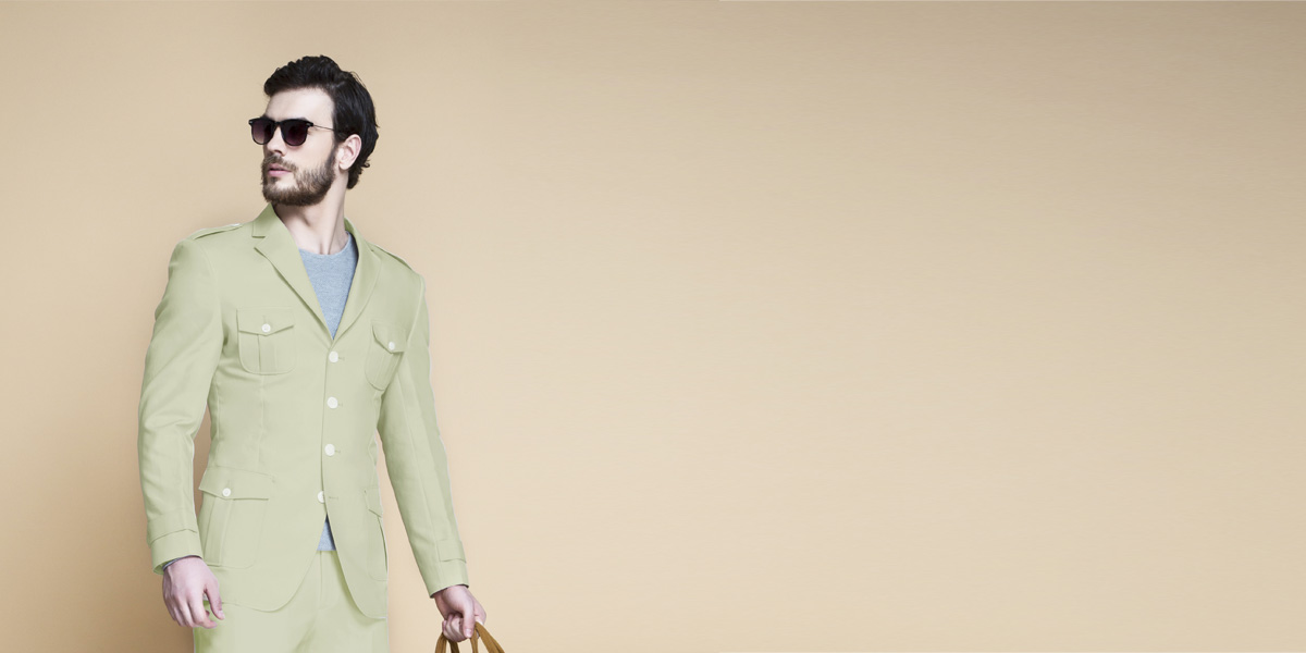 Fraser Sage Green Leisure Suit- view-3