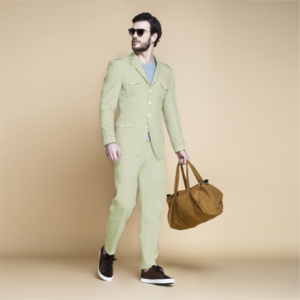 Fraser Sage Green Leisure Suit-mbview-1