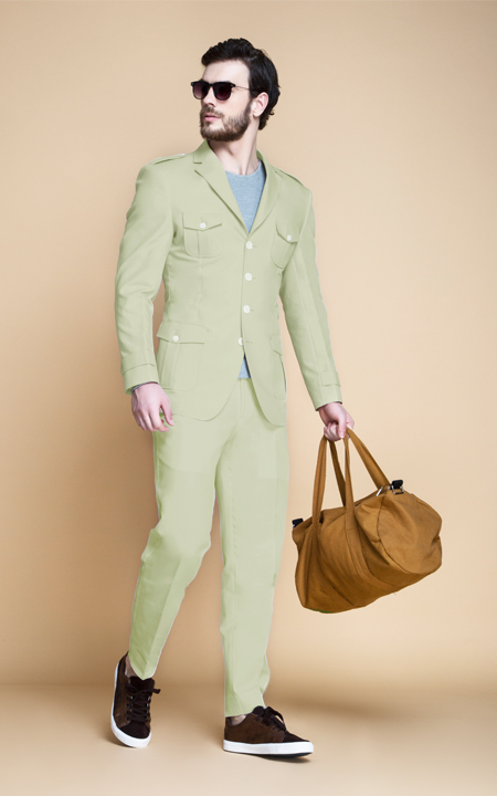 Fraser Sage Green Leisure Suit