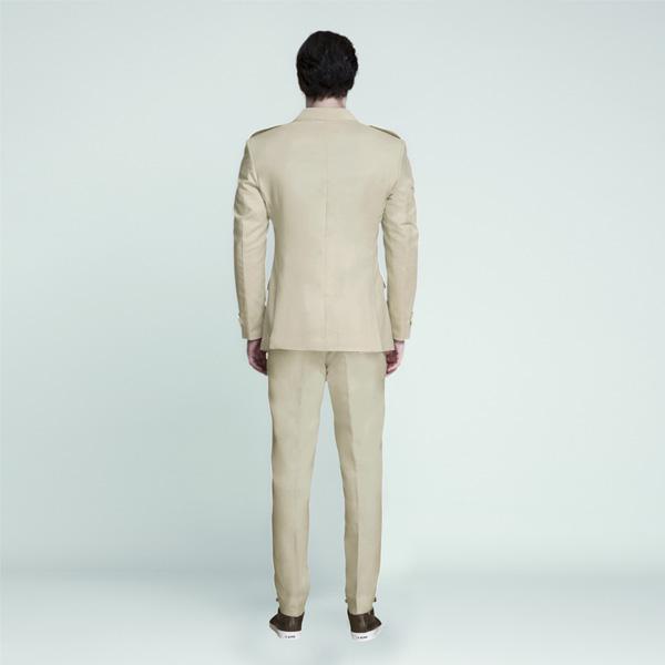 Camel Brown Khaki Leisure Suit-mbview-2