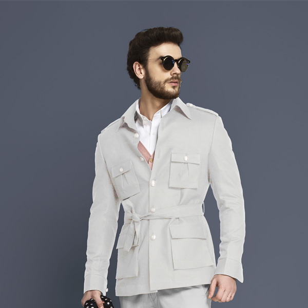 Slate Grey Military Suit-mbview-3
