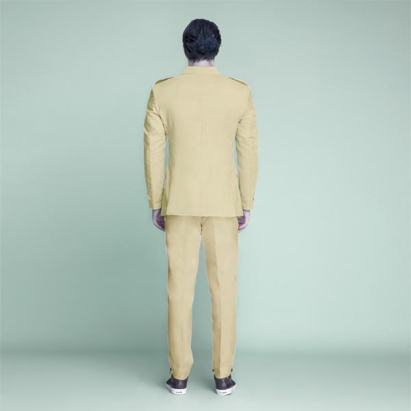 Khaki Brown Leisure Suit-mbview-2