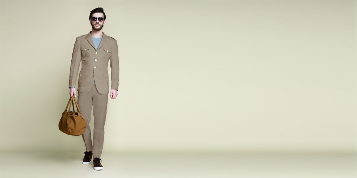 Pebble Brown Leisure Suit- view-1