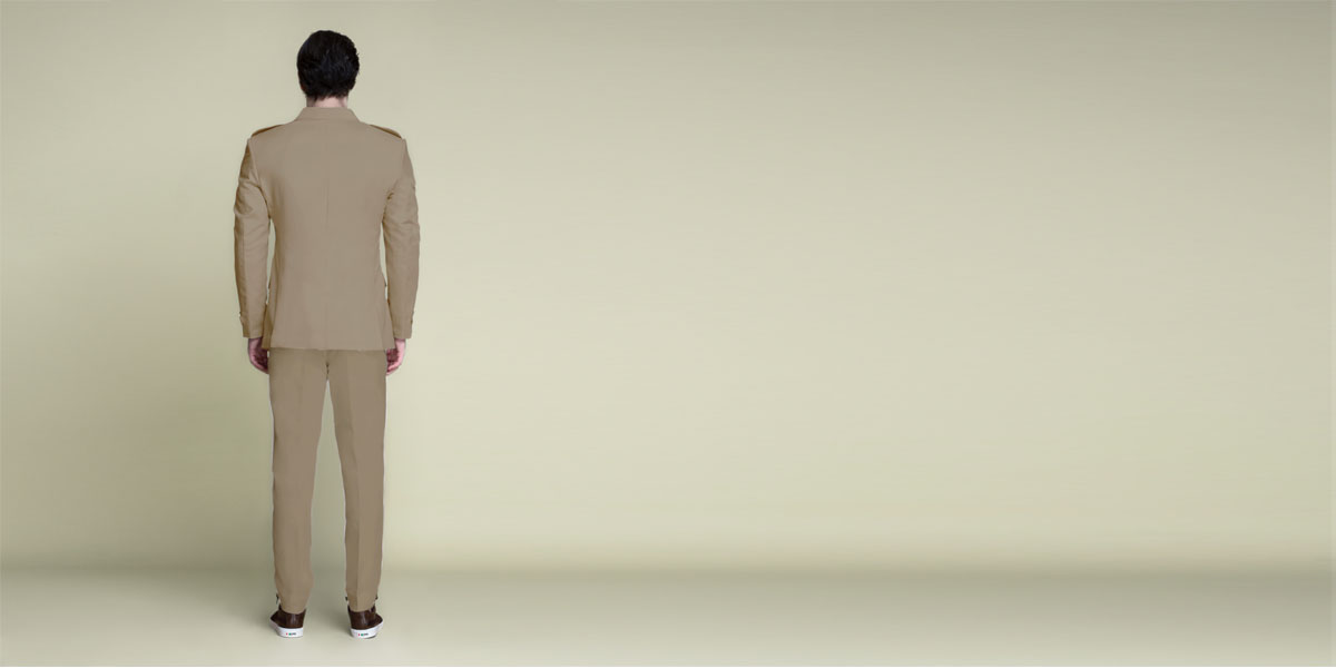Pebble Brown Leisure Suit- view-2