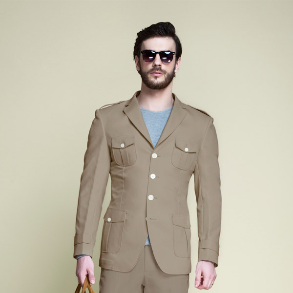 Pebble Brown Leisure Suit-mbview-3