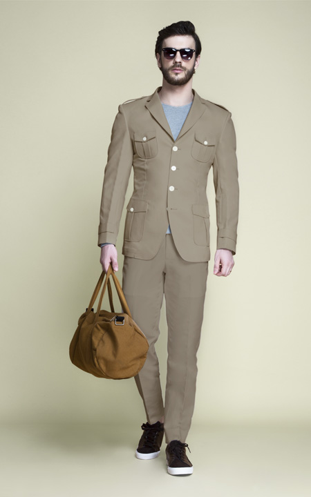 Safari Suits Custom Made In Wool Cotton Linen Fabrics