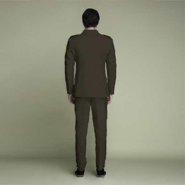 Taupe Green Leisure Suit-mbview-2