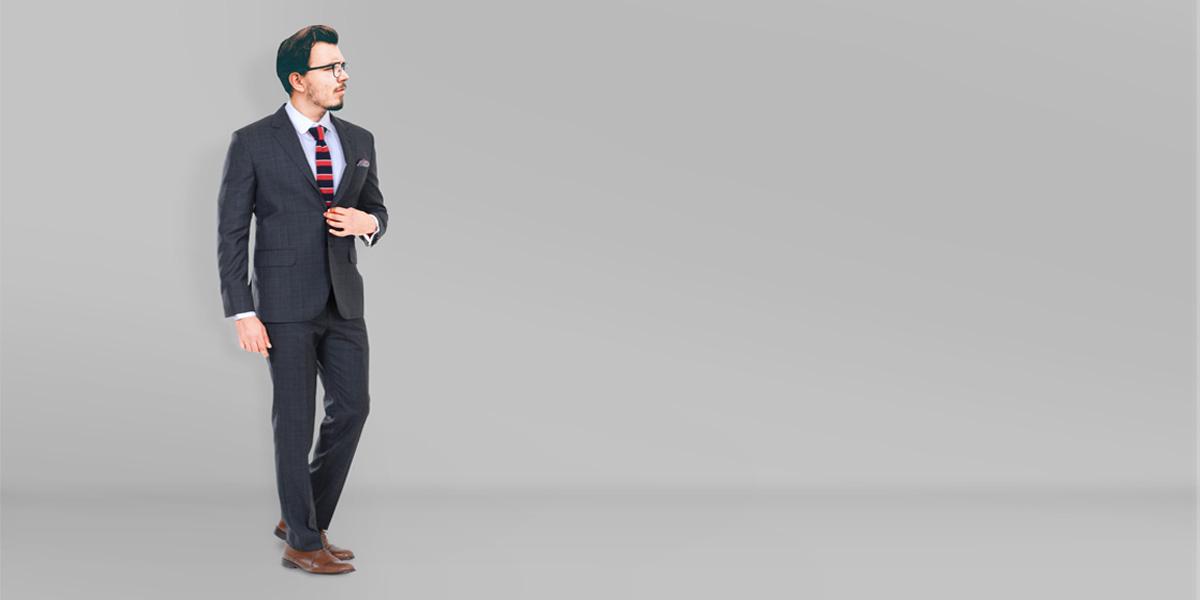 Glenn Plaid Suit- view-1