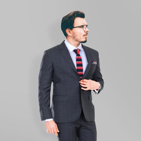 Glenn Plaid Suit-mbview-2