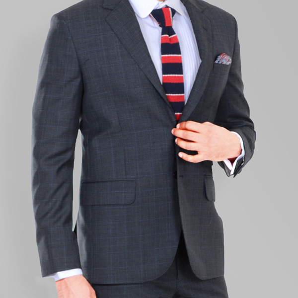 Glenn Plaid Suit-mbview-3