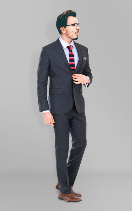 Glenn Plaid Suit