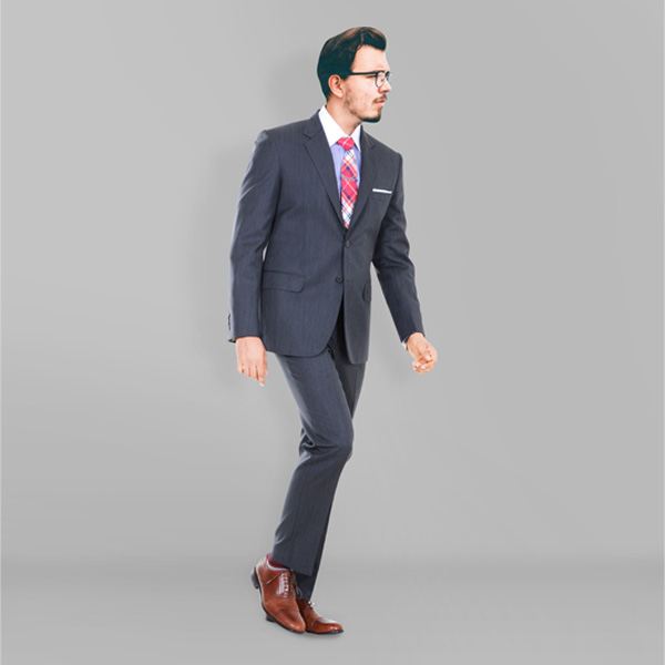 130s Grey Herringbone Suit-mbview-1