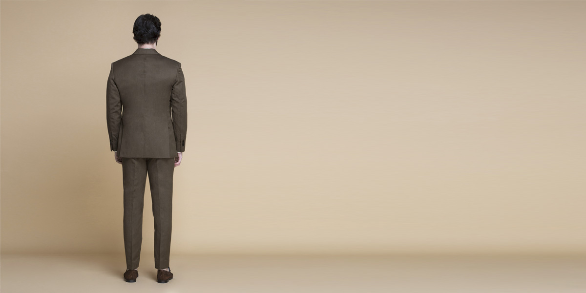 Siena Coffee Brown Linen Suit- view-2