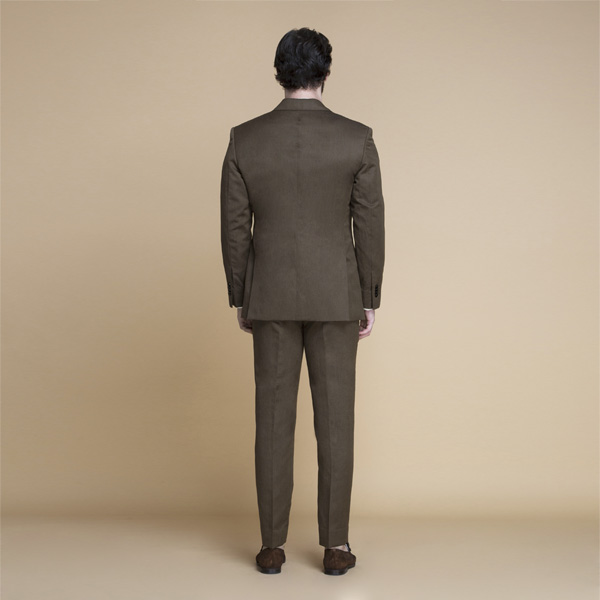 Siena Coffee Brown Linen Suit-mbview-2