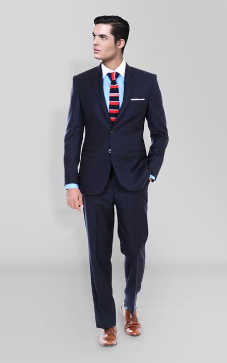 Classic Midnight Blue Suit