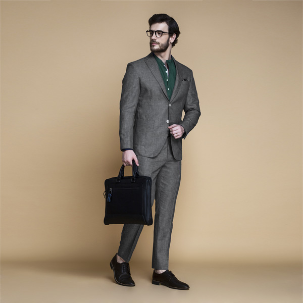 Irish Grey Linen Suit-mbview-1