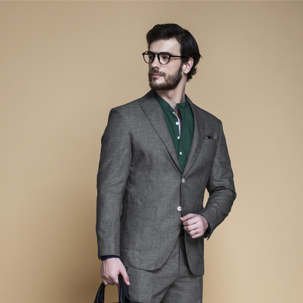 Irish Grey Linen Suit-mbview-3