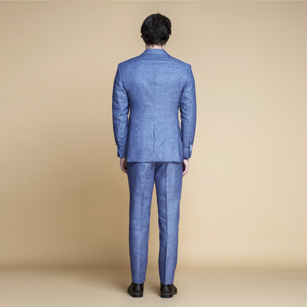 Newport Blue Linen Suit-mbview-2