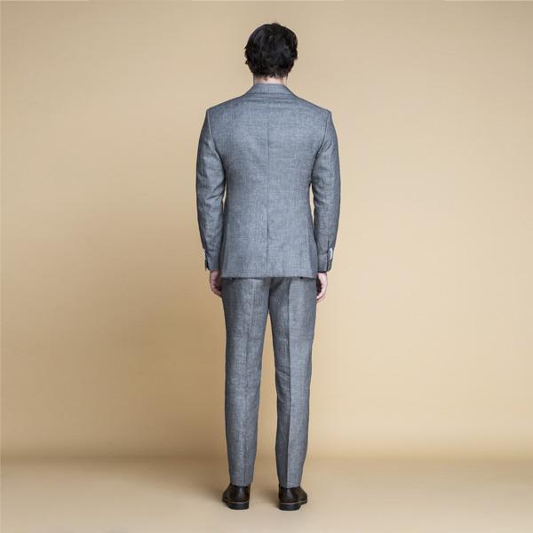 Pastel Grey Linen Suit-mbview-2