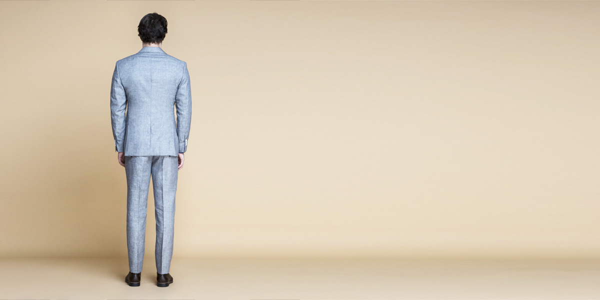 Viennese Grey Linen Suit- view-2