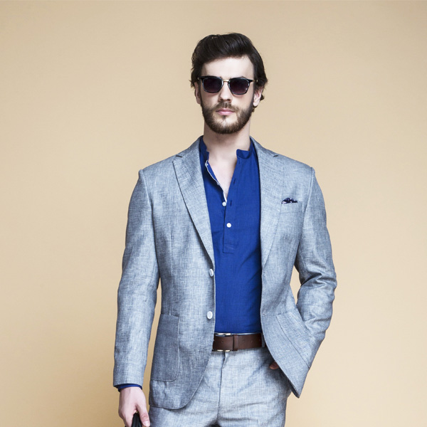 Viennese Grey Linen Suit-mbview-3