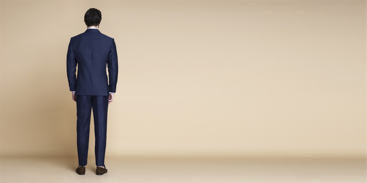 Harbor Blue Linen Suit- view-2