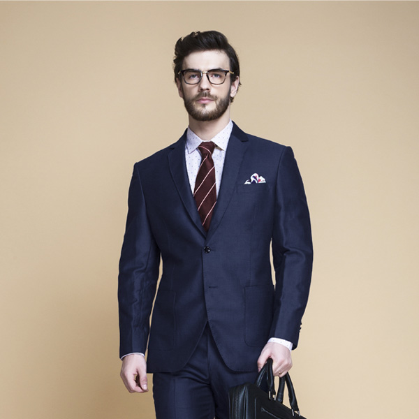 Harbor Blue Linen Suit-mbview-3