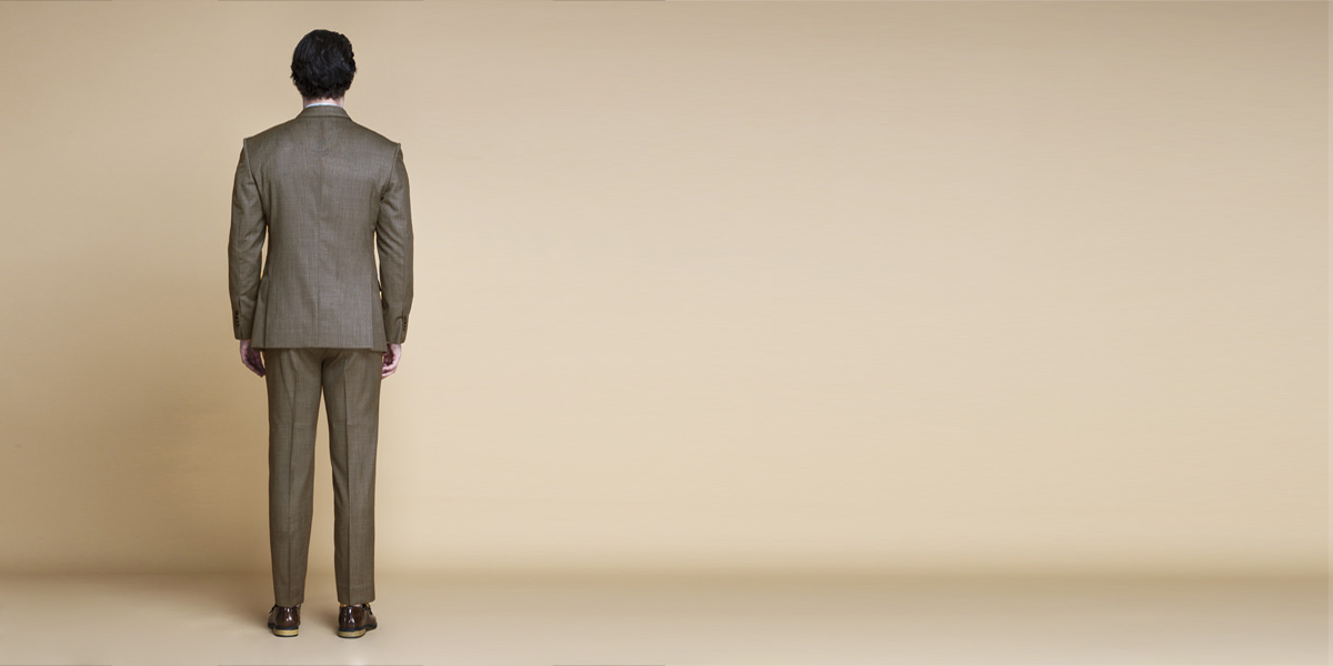 Nalton Brown Nailhead Suit- view-2