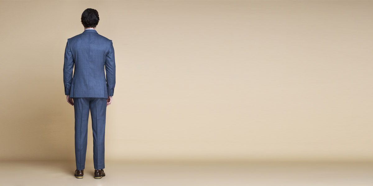 Gibson Bluish Grey Nailhead Suit- view-2