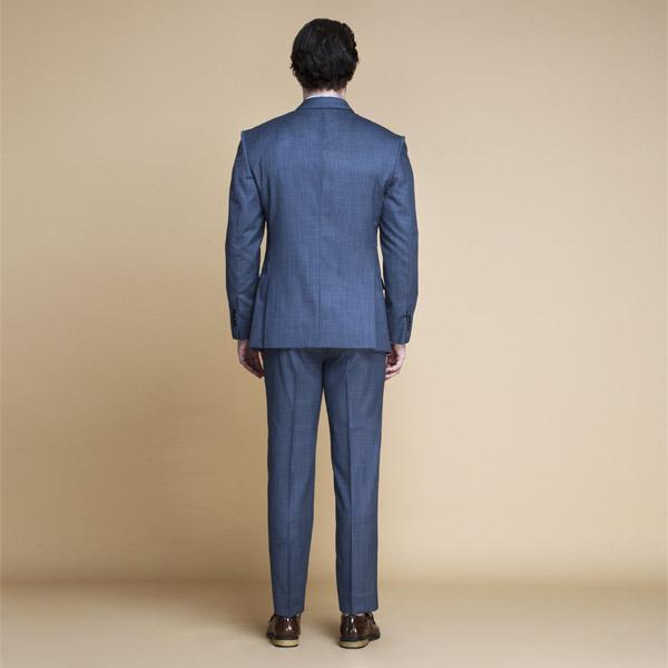Gibson Bluish Grey Nailhead Suit-mbview-2
