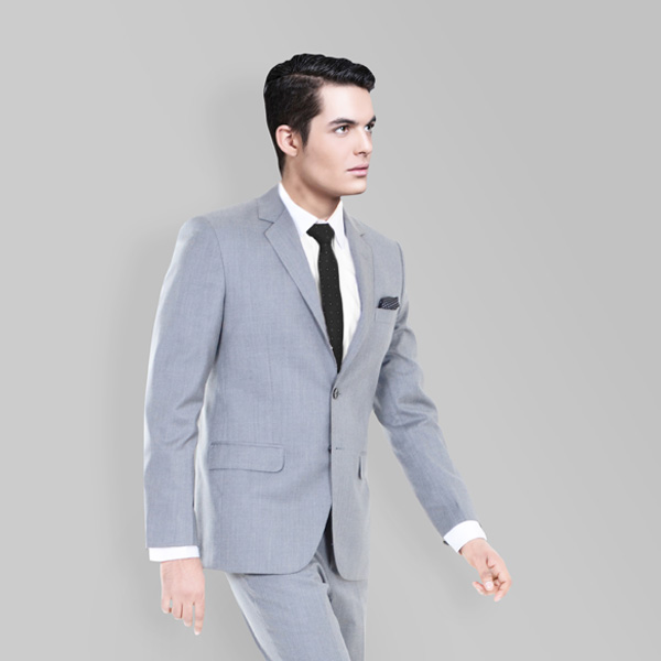 Nordon Grey Sharkskin Suit-mbview-2