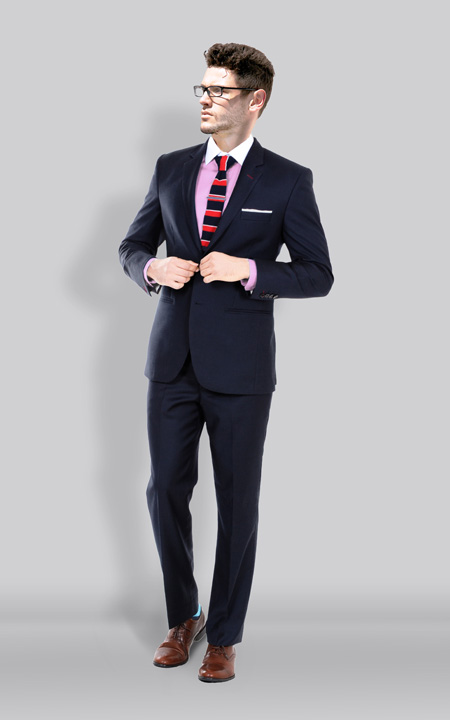 Newport Navy Blue Suit