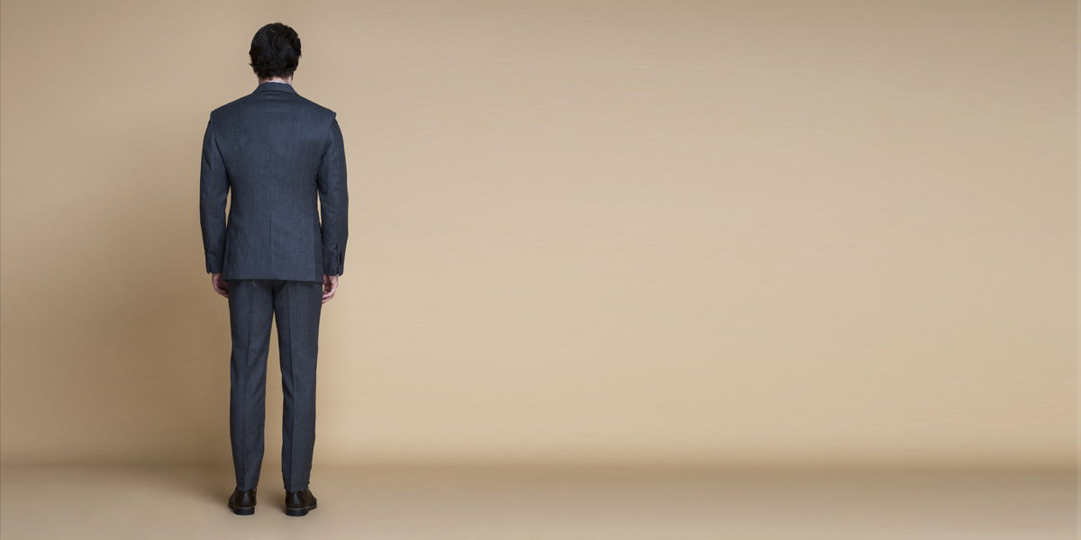 Windsor Grey Flannel Suit- view-2