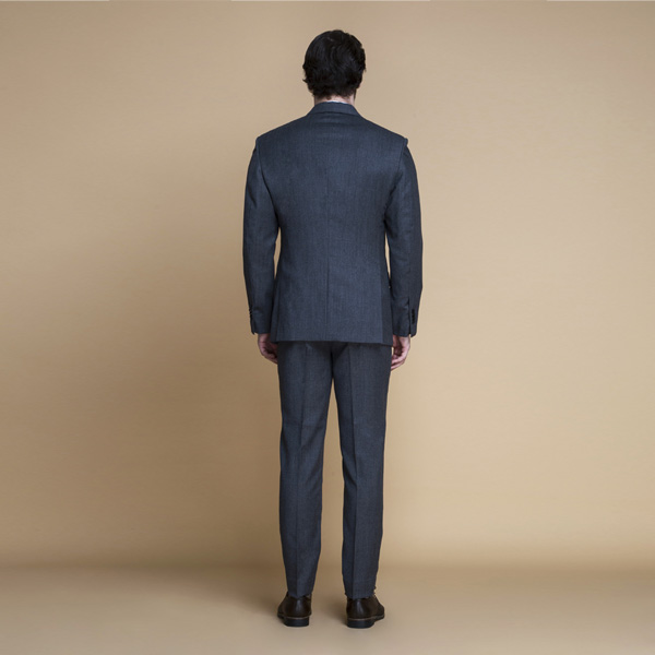 Windsor Grey Flannel Suit-mbview-2