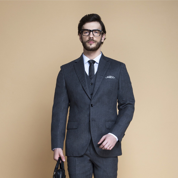 Windsor Grey Flannel Suit-mbview-3