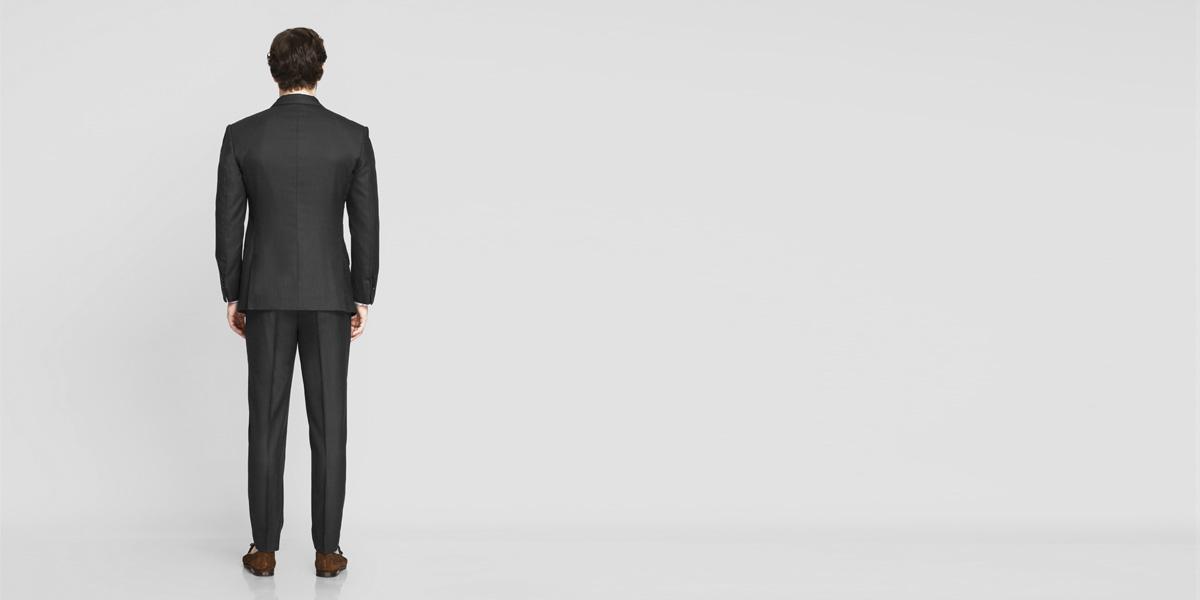 Tribeca Charcoal Birdseye Suit- view-2