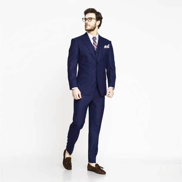 Lincoln Square Blue Birdseye Suit-mbview-1