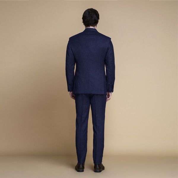 Piccadilly Midnight Blue Flannel Suit-mbview-2