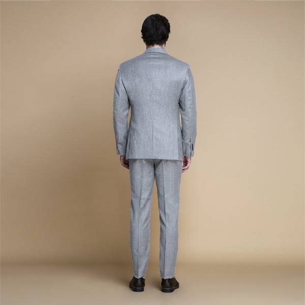Highgate Light Grey Flannel Suit-mbview-2