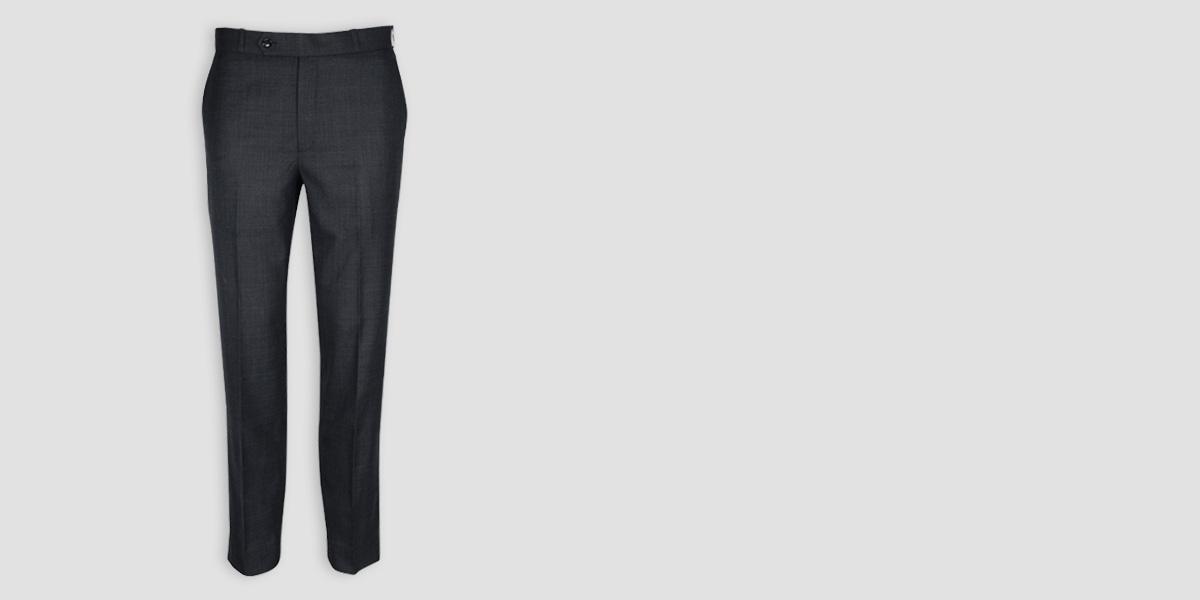 Newport Grey Checks Custom Pants- view-1