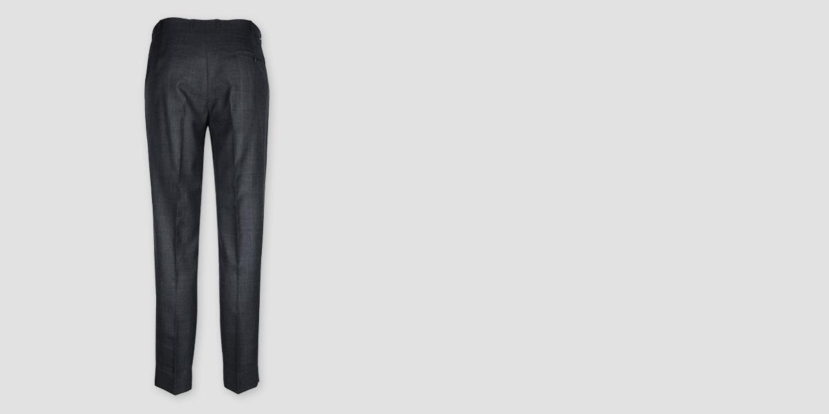 Newport Grey Checks Custom Pants- view-2