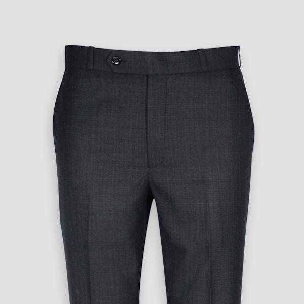 Newport Grey Checks Custom Pants-mbview-3