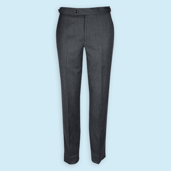 Highgate Grey Flannel Custom Pants-mbview-1